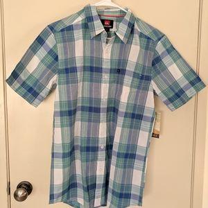 Quicksilver mens button up shirt